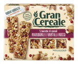Grancereale - Cereal Bars with Almonds and Blueberries