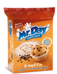 Mr. Day - Muffin with Chocolate Chips (42gr x6)