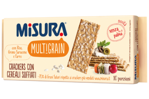 MISURA Multigrain- Crackers con Cereali Soffiati