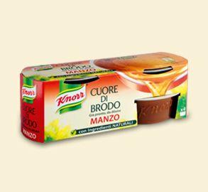 Knorr- Cuore di brodo manzo