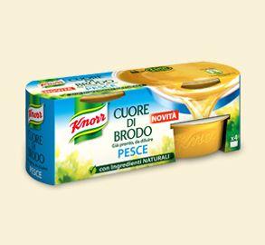 Knorr- Cuore di brodo pesce