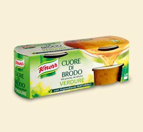 Knorr- Cuore di brodo verdure