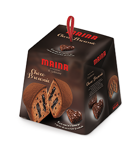 Maina- Panettone Choco Brownie (750 gr)