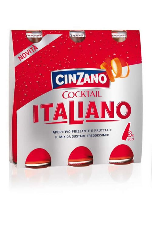 Cinzano - Cocktail Italiano (3 x 200 ml)