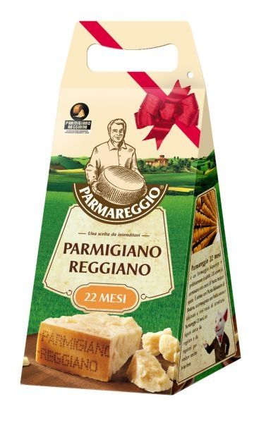 Parmareggio - 22 months old Parmigiano Reggiano CONFEZIONE REGALO (1000 gr)