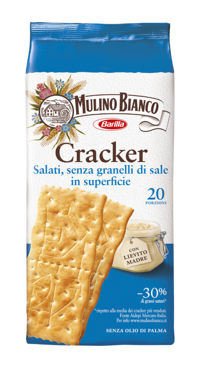 Mulino Bianco- Sfoglia di Grano non Salted Crackers