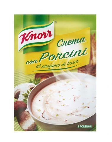 Knorr- Crema con porcini