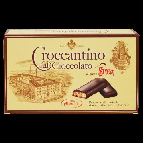 Alberti- Croccantino al Cioccolato gusto Strega (gr300)