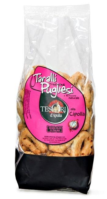Tesori d'Apulia- Taralli alla Cipolla
