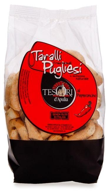 Tesori d'Apulia- Taralli al Peperoncino