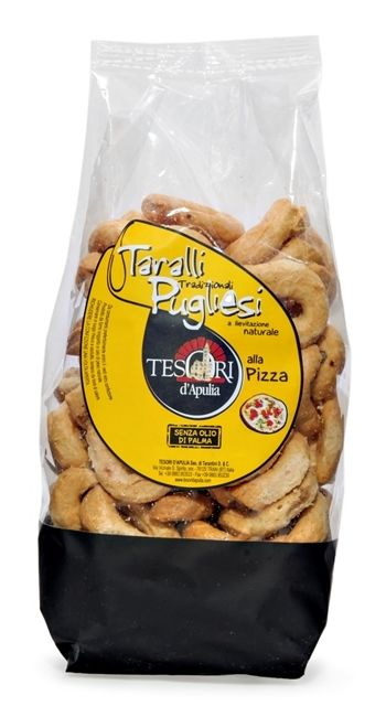 Tesori d'Apulia- Taralli alla Pizza