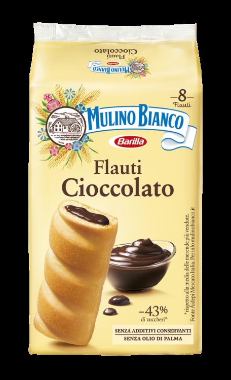 Mulino Bianco- Chocolate Flauti