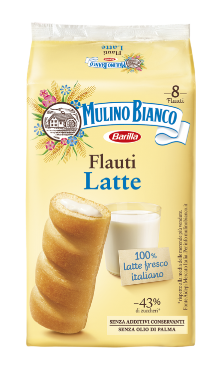 Mulino Bianco - Milk Flauti