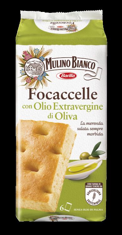 Mulino Bianco- Focaccelle Olio Extra Vergine di Oliva