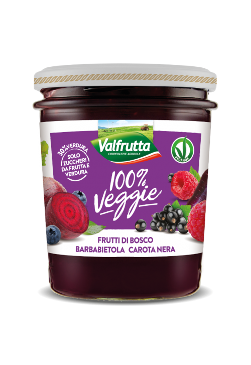 Valfrutta- Berries, Beet and Black Carrot Jam