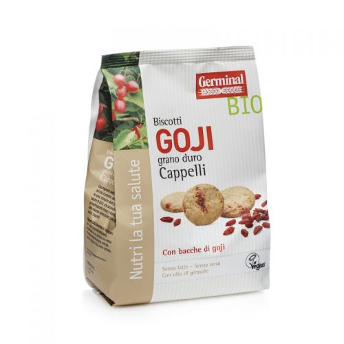 Germinal- Biscuits with Goji berries