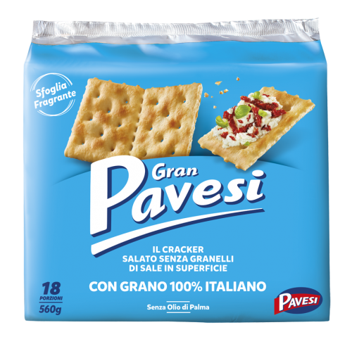 Pavesi- Gran Pavesi not Salted Crackers