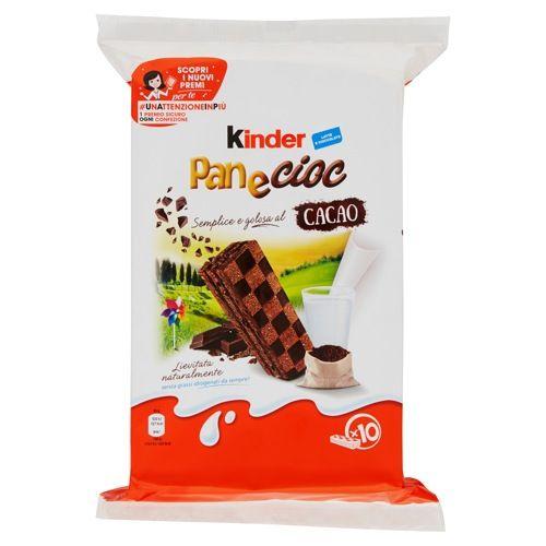 Kinder Pan e Cioc Cacao
