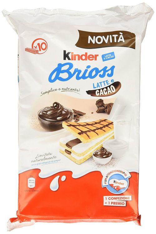 Kinder Brioss Latte e Cacao (290gr)