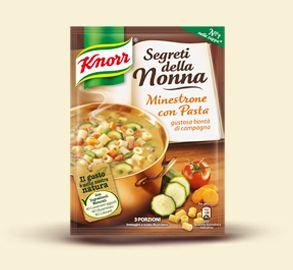 Knorr- Minestrone con pasta