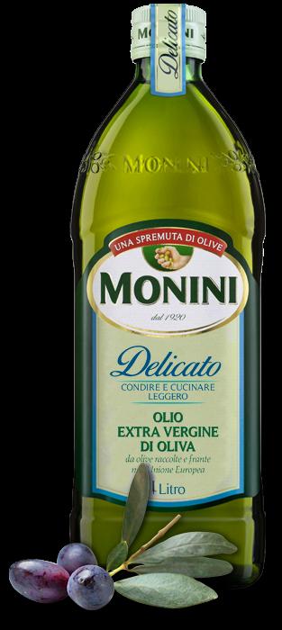 MONINI-Olio Extra Vergine di Oliva -Delicato