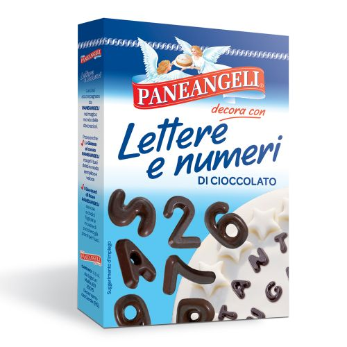 Paneangeli-CHOCOLATE LETTERS AND NUMBERS