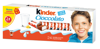 Kinder Milk Chocolate Bars (300g)