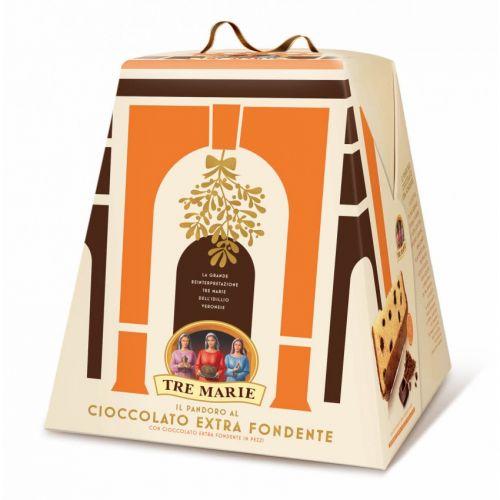 tre marie- Pandoro al Cioccolato Extra-Fondente (1000gr)
