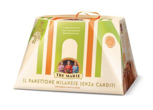 Tre marie- Panettone Milanese senza Canditi