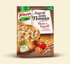 Knorr- Pasta e fagioli