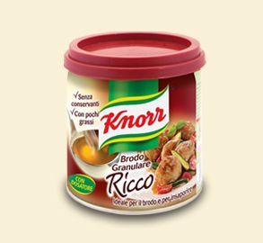 Knorr- Brodo granulare ricco