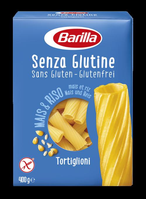 Barilla- Gluten Free Tortiglioni