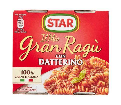 Star- Il Mio Gran Ragù CON DATTERINO (2x180gr)