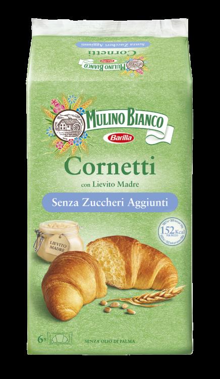 Mulino Bianco- Cornetti Senza Zuccheri Aggiunti