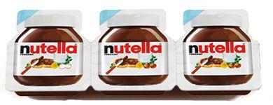 Ferrero - Nutella Vaschette 30 gr x 3 pz