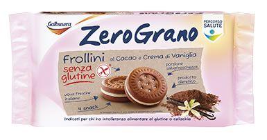 Galbusera - Biscotti Gluten free Cacao e Vaniglia