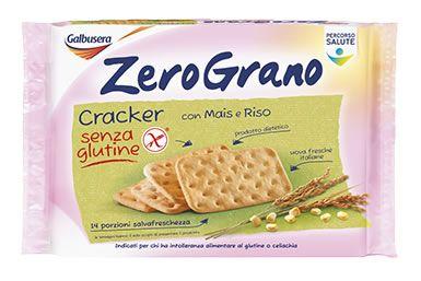 Galbusera -  Cracker Gluten free con mais e riso