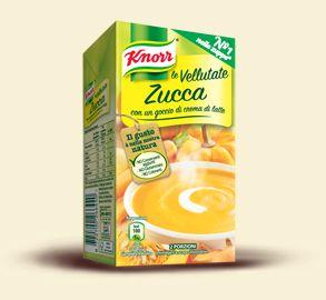 Knorr- Le Vellutate - zucca