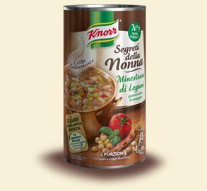 Knorr- Minestrone di legumi